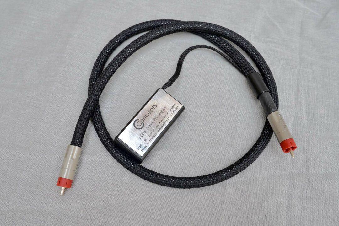 Câbles interconnect actifs Ligne Argent Pur