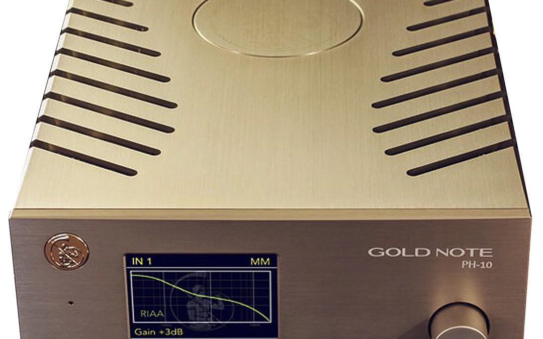 Gold Note Pré-ampli phono PH-10 et Alimentation