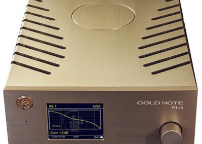Gold Note Pré-ampli phono PH-10 et Alimentation